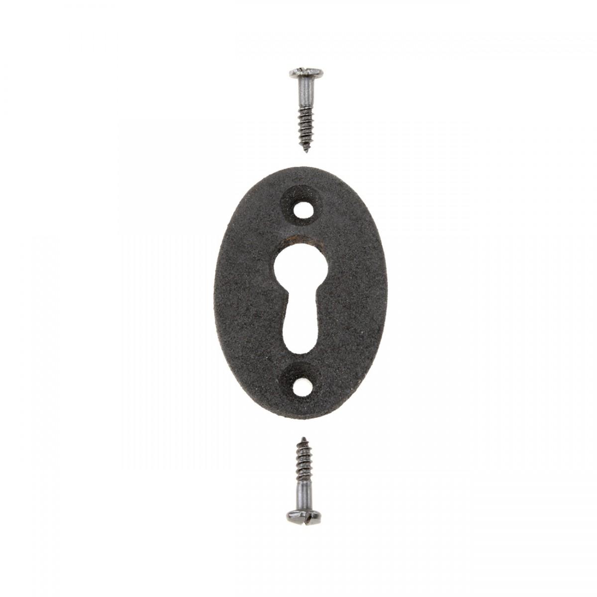 Wrought Iron Keyhole Cover Escutcheon Replacement 134 H Antique Keyhole Escutcheons Furniture Keyhole Escutcheons Keyhole Covers For Doors