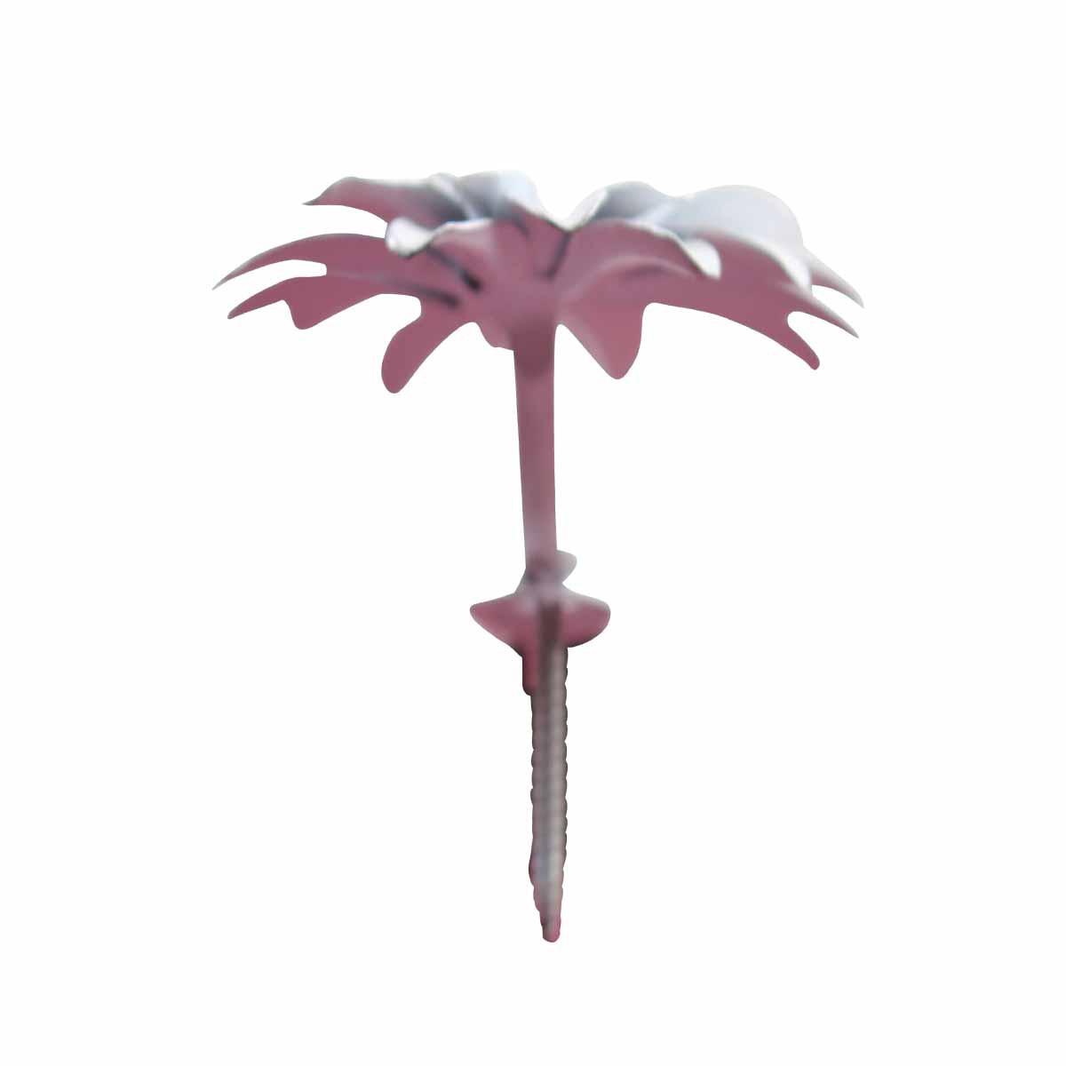 Flower Hook Wrought Iron White Zinnia Hooks Decorative Hook Coat Hook