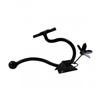 <PRE>Decorative Triple Hook Black Rose Wrought Iron </PRE>zoom7