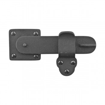 Gate Latch Black Wrought Iron 5 34 by 3 38 Wrought Iron Gate Latch Gate Latch Rust Proof Antique Gate Latch