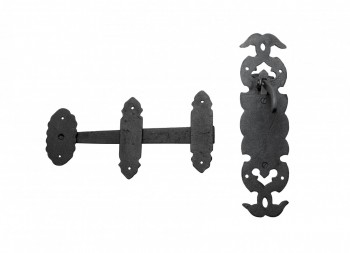 <PRE>Cabin Door Latch Lock Wrought Iron Colonial Style Door Latches Hardware</PRE>zoom5