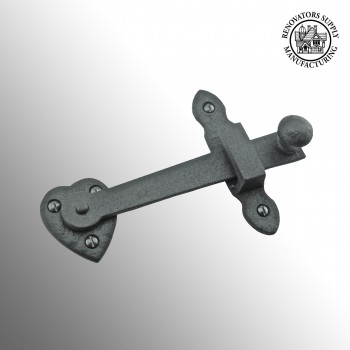 Gate Latch Black Wrought Iron Set 4in X 6 38in Gate Latches Gate Latch Wrought Iron Gate Latches