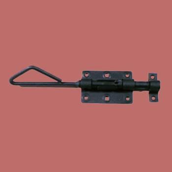 <PRE>Wrought Iron Slide Bolt Black Rustproof Lock </PRE>
