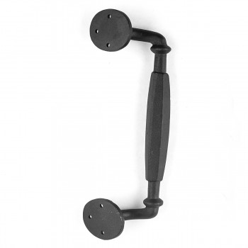 <PRE>Wrought Iron 10 1/4inch Door Pull Rust Resistant Colonial Style Design| Renovator'</PRE>zoom4