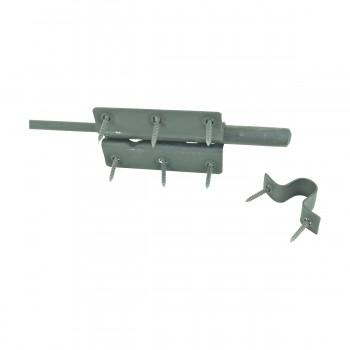 <PRE>Wrought Iron Slide Bolt Black Rustproof Lock </PRE>zoom7