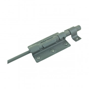 <PRE>Wrought Iron Slide Bolt Black Rustproof Lock </PRE>zoom8