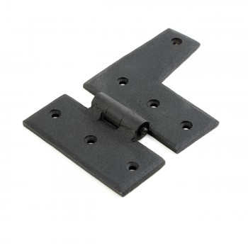 <PRE>Wrought Iron HL Hinge Black Rustproof Right Side 3inch </PRE>zoom3