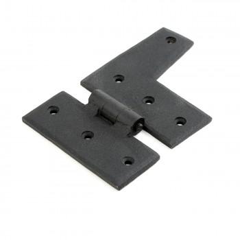 Wrought Iron HL Hinge Black Rustproof Right Side 3 Wrought Iron Door Hinges Black Door Hinges Rustproof Cabinet Hinges