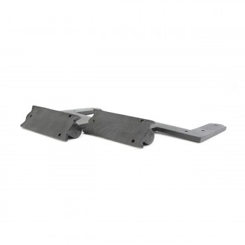 "<PRE>Pair Shutter Hinge Wrought Iron 6inch H x 6 1/2"" W </PRE>zoom5"