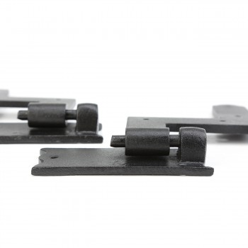 "<PRE>Pair Shutter Hinge Wrought Iron 6inch H x 6 1/2"" W </PRE>zoom6"