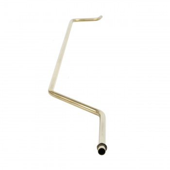 <PRE>Biscuit High Tank Toilet, Elongated, Brass L-Pipe  </PRE>zoom3
