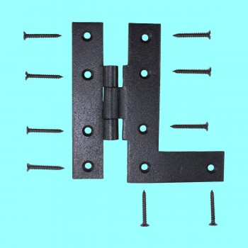 <PRE>Offset H-L Cabinet Hinge Black Iron Left 4.5inchH </PRE>zoom2