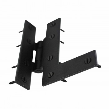 <PRE>Offset H-L Cabinet Hinge Black Iron Left 4.5inchH </PRE>zoom6