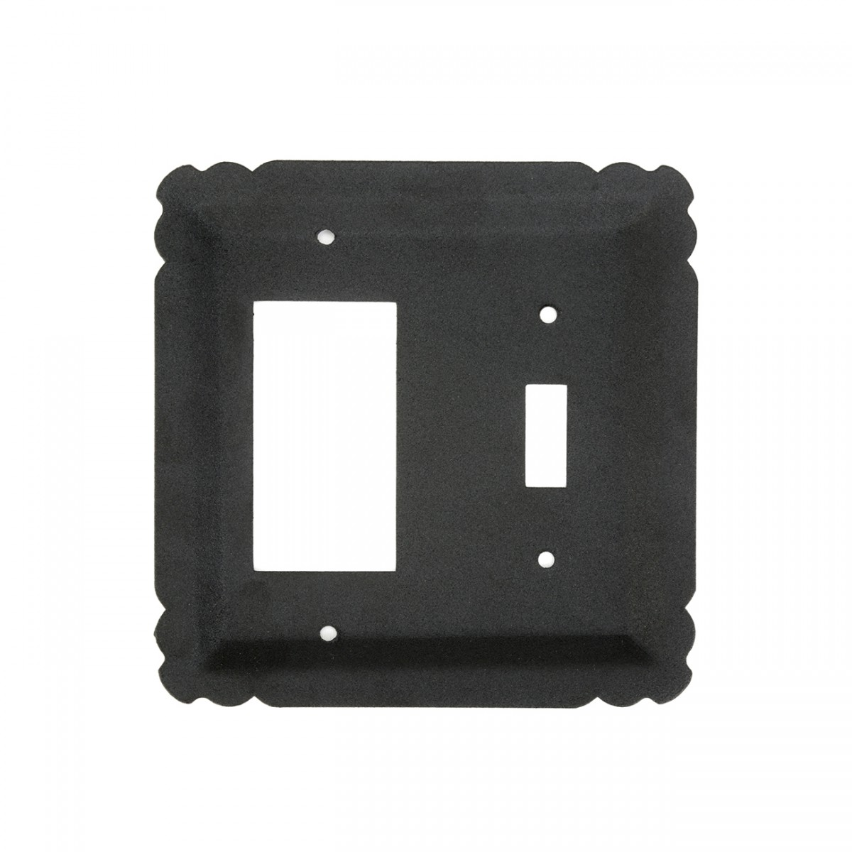 Switchplate Black Wrought Iron GFIToggle 5 14 Switchplate Covers Black Switch Plates And Outlet Covers Decorative Switchplates