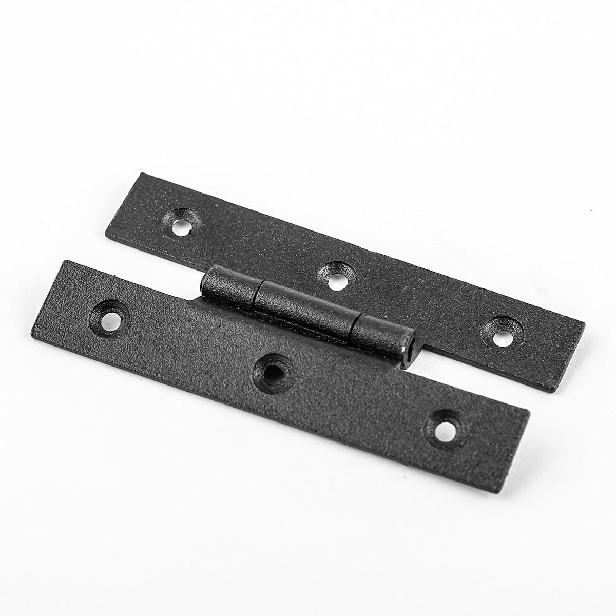 Forged Iron Cabinet Hinge H Style  3.12 H w Offset Door Hinges Door Hinge Solid Brass Hinge