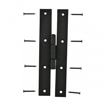<PRE>Black Iron Flush Door Hinge H Forged High Rustproof Finish 7 Inch</PRE>zoom3
