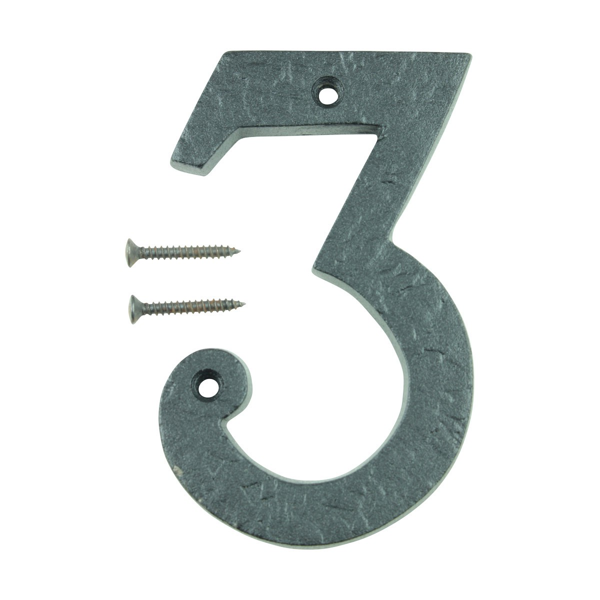 Number 3 House Number Black Wrought Iron 4H Mail Box Numbers Mailbox Numbers House Number