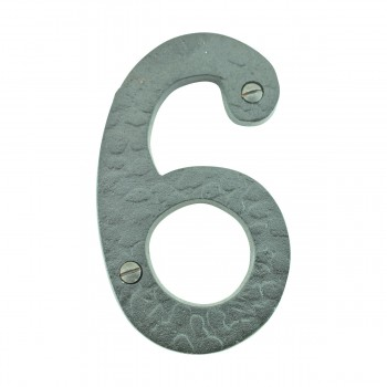 "<PRE>Number inch6"" or ""9"" House Number Black Wrought Iron 4""H </PRE>zoom2"