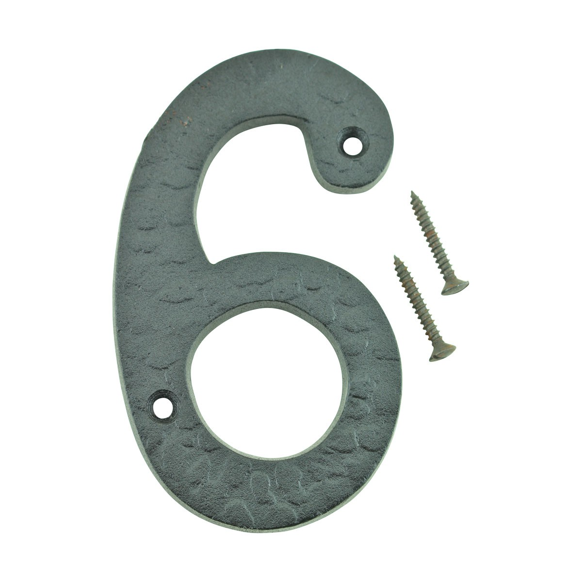 Number 6 or 9 House Number Black Wrought Iron 4H Mail Box Numbers Mailbox Numbers House Number
