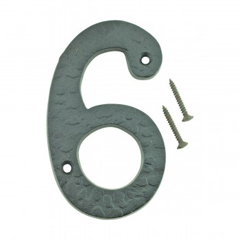 "<PRE>Number inch6"" or ""9"" House Number Black Wrought Iron 4""H </PRE>zoom9"