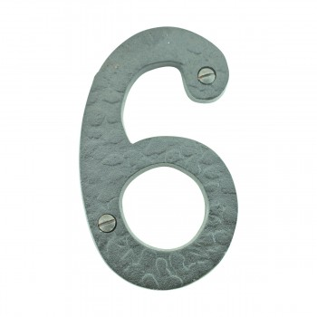 "<PRE>Number inch6"" or ""9"" House Number Black Wrought Iron 4""H </PRE>zoom10"