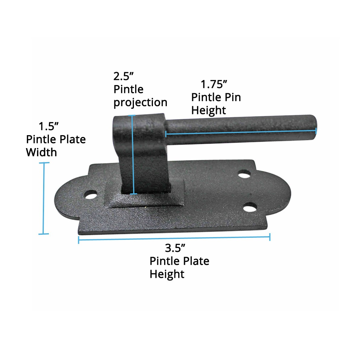 <PRE>Iron Hinges Black Pintle Hinge Strap Shutter Hinge Offset 1.875 Inch</PRE>