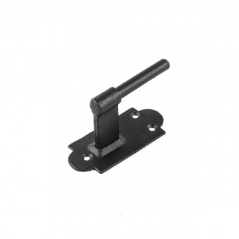 <PRE>Pintle Hinge Strap For Doors And Gates Black Iron Shutter Hinge Offset 2 Inch </PRE>zoom8