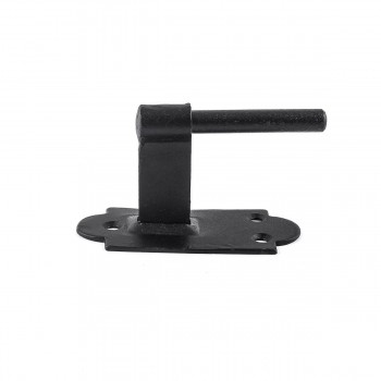 <PRE>Pintle Hinge Strap For Doors And Gates Black Iron Shutter Hinge Offset 2 Inch </PRE>zoom10