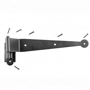 Black Iron Offset Shutter Strap Pintle Hinge 11 34 Door Hinge Pintles Black Iron Pintle Hinges Pintle Hinge Strap