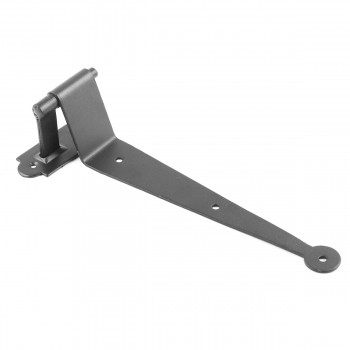 <PRE>Black Iron Offset Shutter Strap Pintle Hinge 11 3/4inch </PRE>zoom6