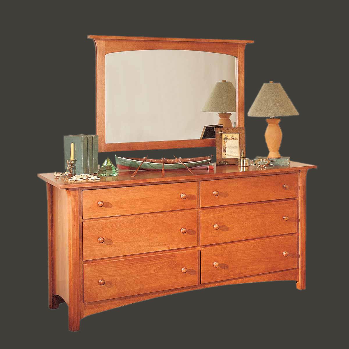 Dressers Autumn Birch Nantucket Double Dresser