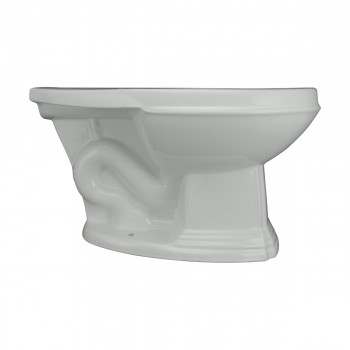 <PRE> Cherry High Tank L-Pipe Toilet Elongated White Bowl </PRE>zoom6