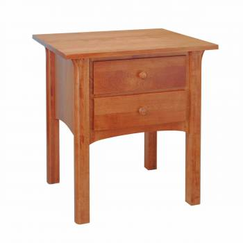Nantucket Side Table Solid Birch Autumn stain