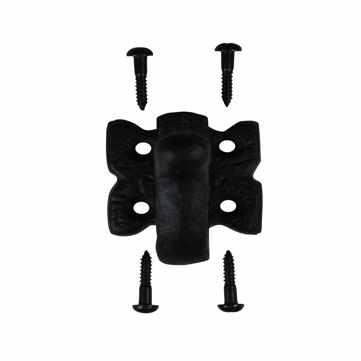 Robe Hook Black Wrought Iron Wrought Iron Coat Hat Jacket Towel Robe Hooks Bathroom Entry Way Hook Hangers