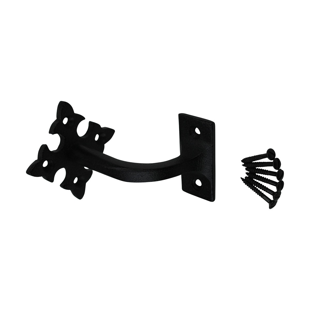 Stair Hand Rail Bracket Black Cast Wrought Iron Handrail Bracket Handrail Bracket Black Staircase Handrail Bracket
