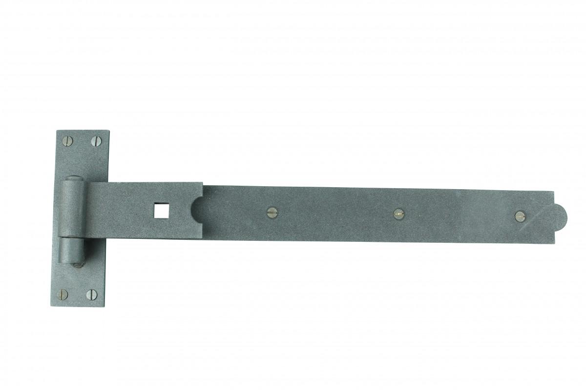 Strap Black Wrought Iron Gate 34 Offset Hinge Black Wrought Iron 19 in. W Door Hinges Door Hinge