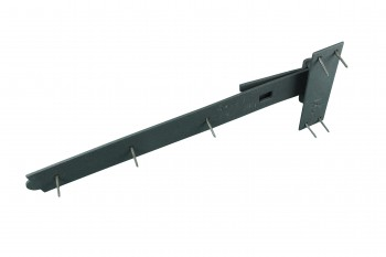 <PRE>Strap Black Wrought Iron Gate 3/4inch Offset Hinge Black Wrought Iron 19 in. W</PRE>zoom7
