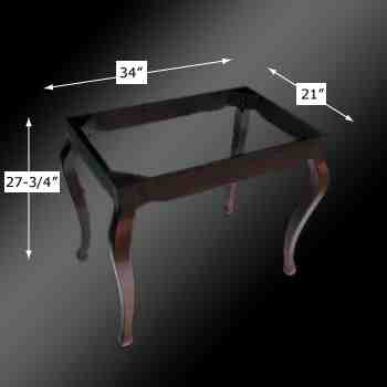 spec-<PRE>Console Sink Provincial Legs Table Hardwood Wall Mount </PRE>