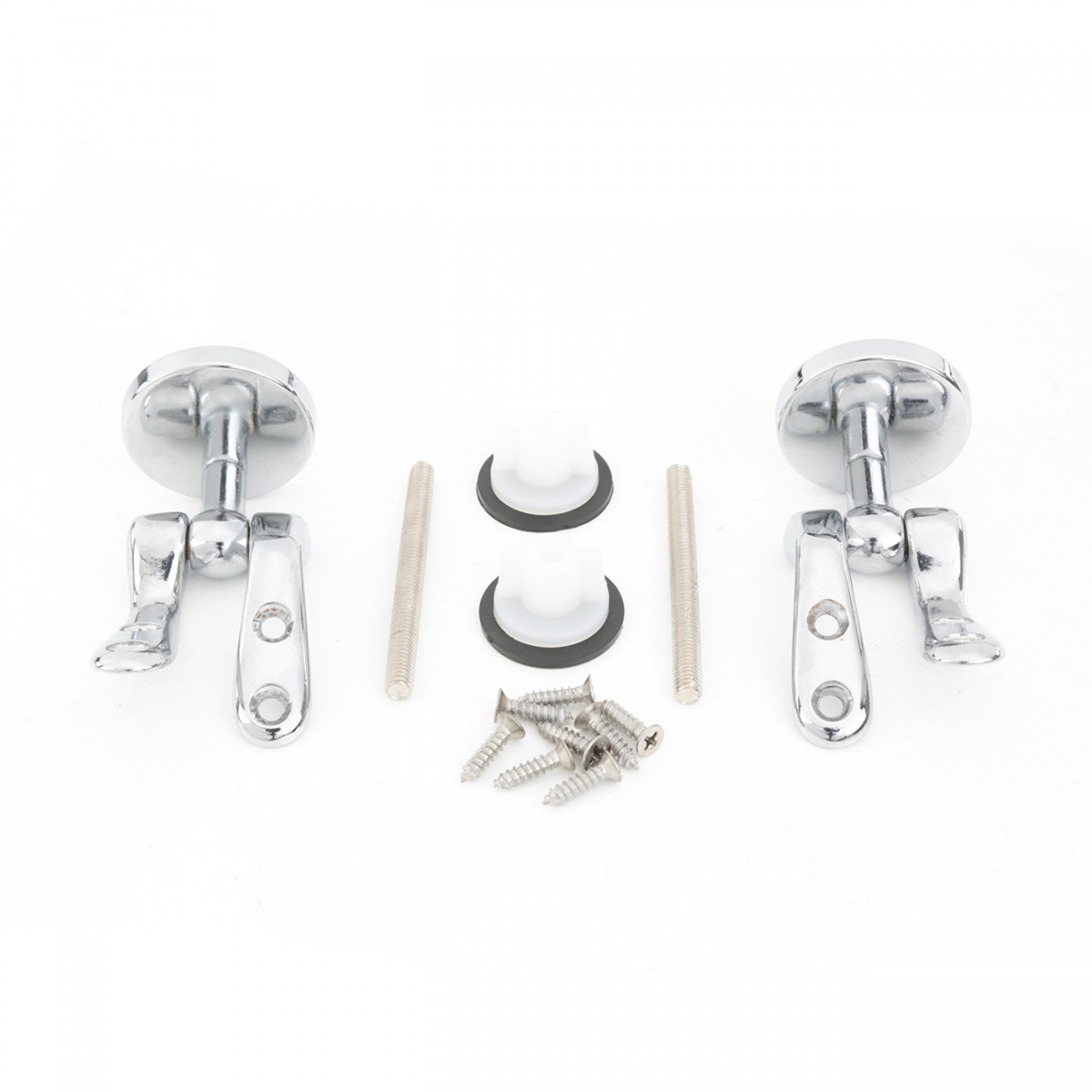 Solid Brass Pair Toilet Seat Hinge Replacement Chrome Toilet Seat Hinges Replacement Toilet Seat Replacement Parts Chrome Toilet Seat Hinge
