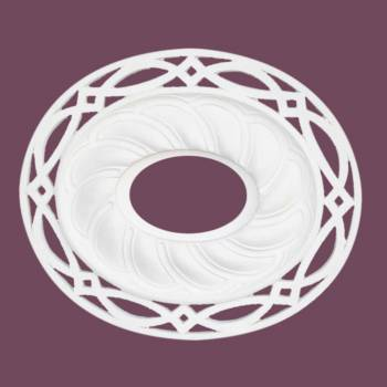 "spec-<PRE>Ceiling Medallion White Urethane 17 11/16"" X 20 13/16"" </PRE>"