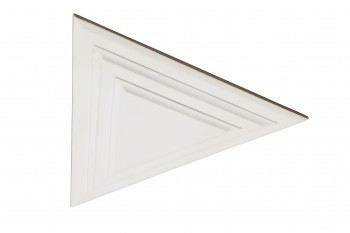 Ceiling Medallion White Urethane 15 34H X 13 34 W Light Medallion Light Medallions Lighting Medallion