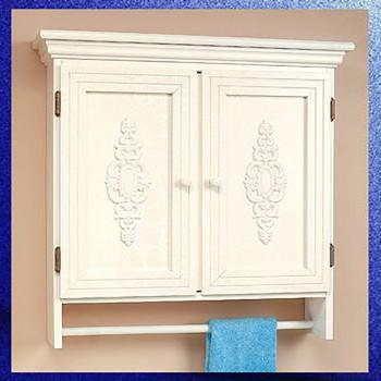 <PRE>Solid Wood Medicine Cabinet Combo 2 Door White Crackle Birch </PRE>