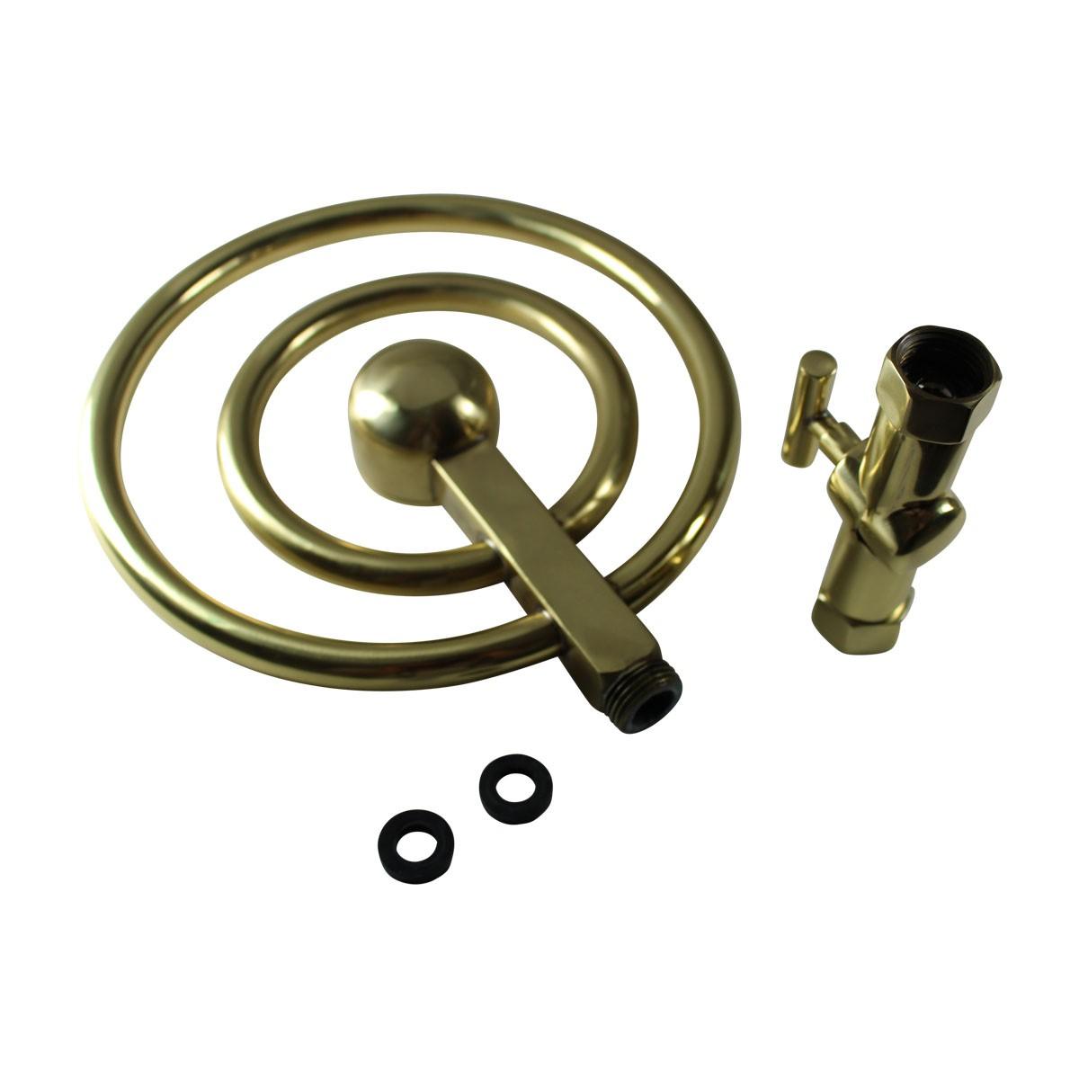 Shower Head Gold PVD Solid Brass 60 Fine Mist Jets Shower Head Shower Heads Bath Shower Head