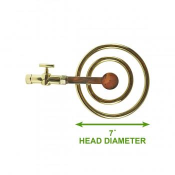 spec-<PRE>Shower Head Gold PVD Solid Brass 60 Fine Mist Jets </PRE>