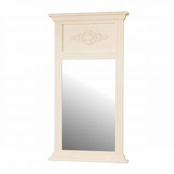 <PRE>Mirror White Crackle Wood Hall/Entry </PRE>