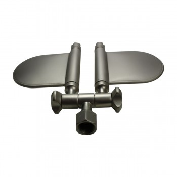 <PRE>Shower Head Nickel 98 Fine Mist Jets Wall Mount </PRE>zoom4