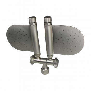 <PRE>Shower Head Nickel 98 Fine Mist Jets Wall Mount </PRE>zoom5