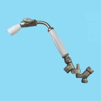 <PRE>Shower Head Nickel Brass Wall Mount Showerhead Only </PRE>zoom2