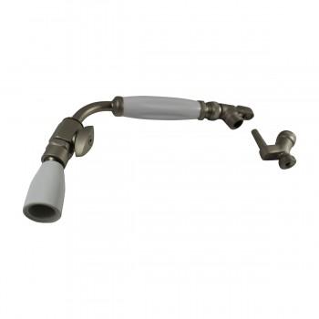 <PRE>Shower Head Nickel Brass Wall Mount Showerhead Only </PRE>zoom3