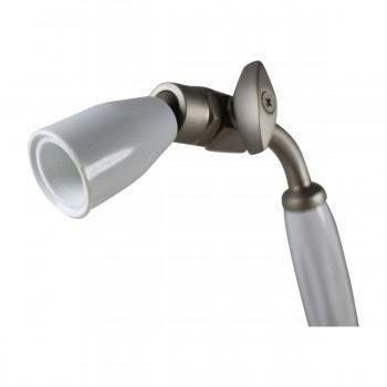 <PRE>Shower Head Nickel Brass Wall Mount Showerhead Only </PRE>zoom5